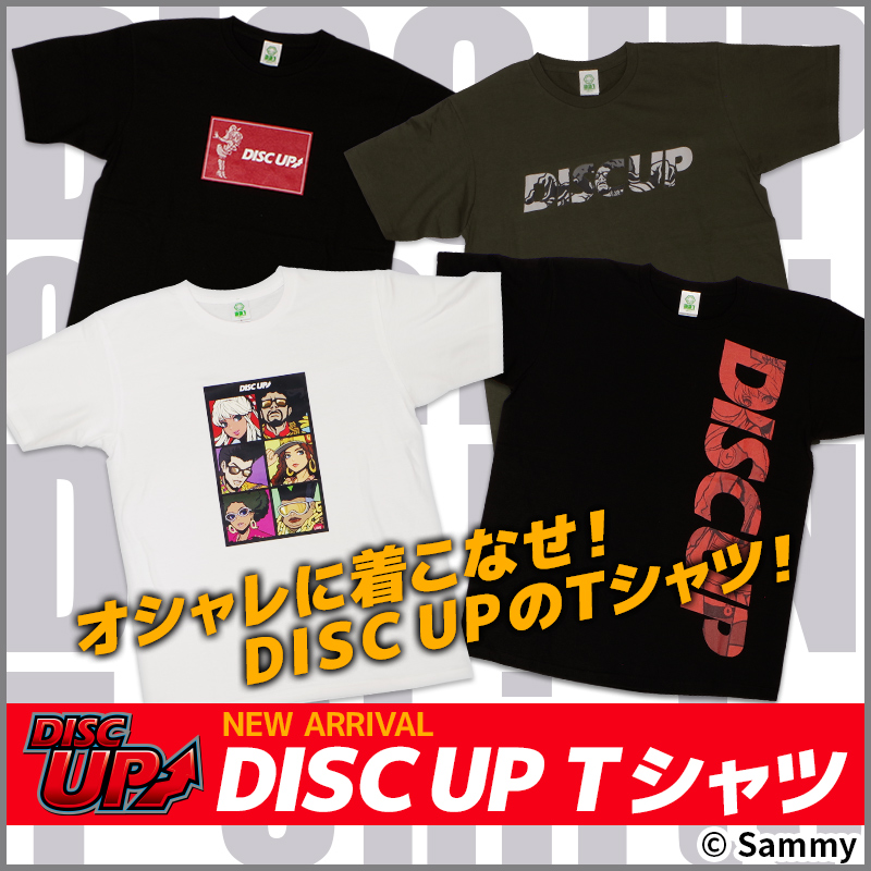 DISCUP Tシャツ